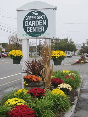 Green Spot Garden Center location